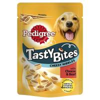 Pedigree Tasty Bites Cheesy Bites Μοσχάρι-Τυρί