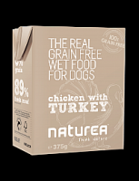 NATUREA CHICKEN WITH TURKEY 375 gr