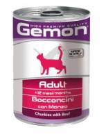 GEMON CAT Chunkies Adult Beef