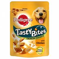 Pedigree Tasty Bites Crunchy Pockets Κοτόπουλο