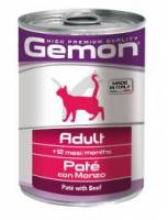GEMON CAT Pate Adult Beef